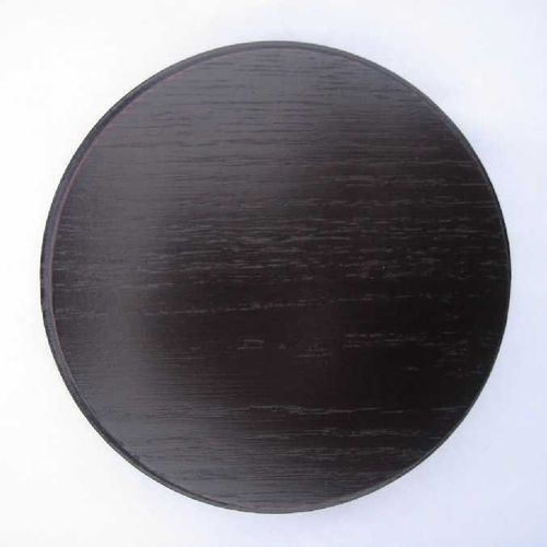 Round oak shields, 11 -21 cm (dark)